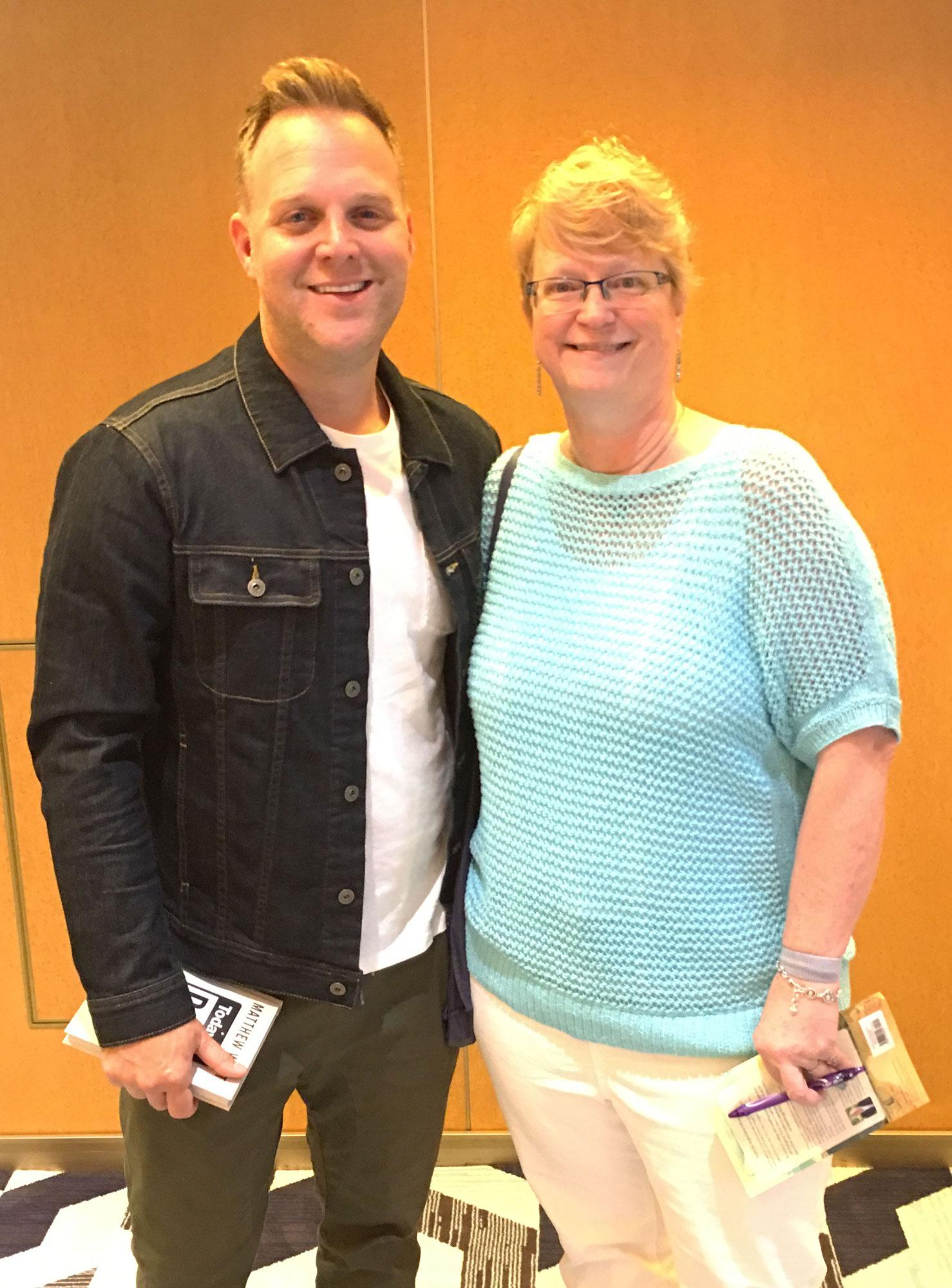 Matthew West with Joana Glass
